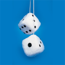 FUZZY DICE FOR CAR