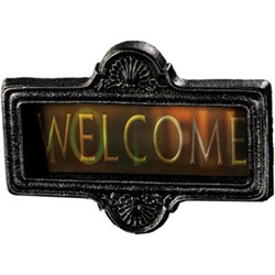 GORTRAIT SIGN - WELCOME - TO HELL