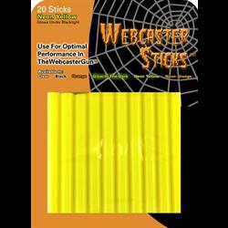 WEBCASTER STICKS NEON YELLOW