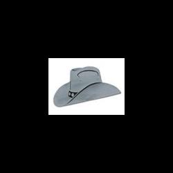 COWBOY HAT FOIL CUTOUT SILVER