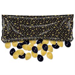 BALLOON DROP BAG BLACK/GOLD