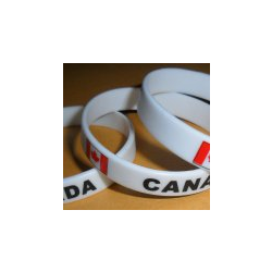 CANADA RUBBER BRACELET
