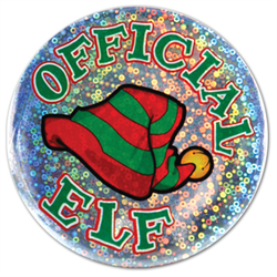 BUTTON ELF LAZER ETCH SOLD OUT 2020