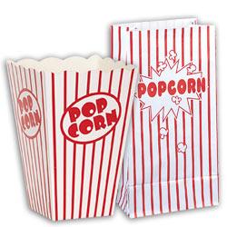 POPCORN BAG PAPER 10/PKG