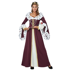 ROYAL STORYBOOK QUEEN LARGE ADULT COSTUME
