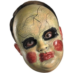 SMEARY DOLL FACE MASK