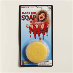 BLOOD RED SOAP
