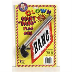 """GIANT """"BANG"""" FLAG GUN"""