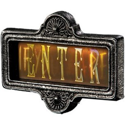 GORTRAIT SIGN - ENTER - IF YOU DARE