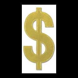 DOLLAR SIGN FOIL