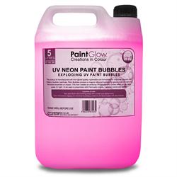 NEON UV PAINT BUBBLES 5L - PINK