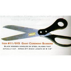 SCISSORS GIANT CEREMONY