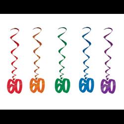 NUMBER 60 WHIRLS 5/PKG