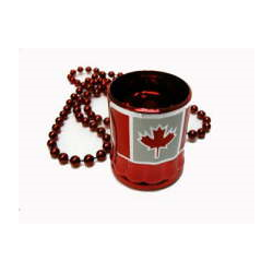 CANADIAN TRAVELLING SHOT GLASS