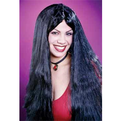 LONG 'N' LOVELY WIG - BLACK (USE 148-70042)