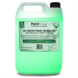 NEON UV PAINT BUBBLES 5L - GREEN