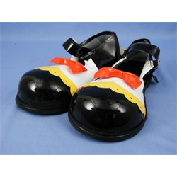 CLOWN SHOES RED BOW