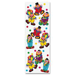 (*) STICKERS CLOWN