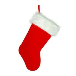(*) CHRISTMAS STOCKING PLUSH