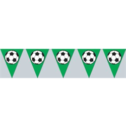 SOCCERBALL PENNANT BANNER