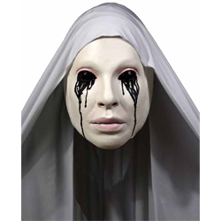 ASYLUM NUN LATEX MASK
