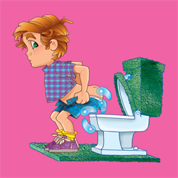 SQUIRT TOILET SEAT