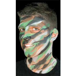 (*) JUNGLE CAMO MAKEUP STACK CARDED
