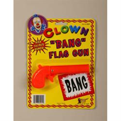 """CLOWN """"BANG"""" FLAG GUN"""