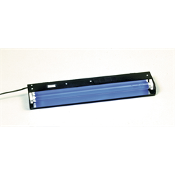 """18"""" BLACKLIGHT FIXTURE WITH BULB"""