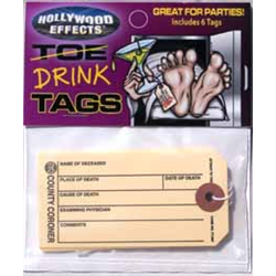 TOE/DRINK TAGS