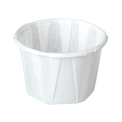 (*) PORTION CUP 1 OZ PAPER 250/SLEEVE
