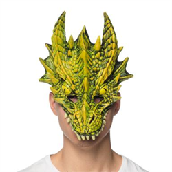 DRAGON MASK SUPERSOFT - GREEN