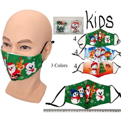 FACE MASK CHILDS CHRISTMAS ASSORTED