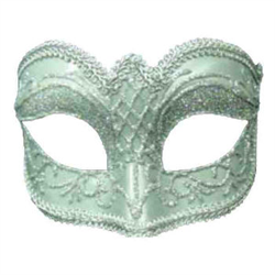 Mardi Gras and Masquerade Half Masks