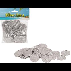 COIN SILVER PLASTIC 100/PKG