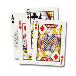 PLAYING CARDS 25''