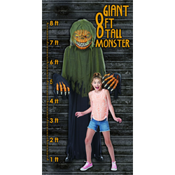 TOWERING TERROR PUMPKIN ONE SIZE ADULT COSTUME