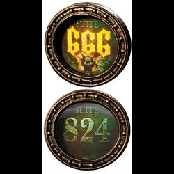GORTRAIT SIGN - SUITE 824 - SUITE 666