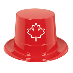 CANADIAN PRINT TOP HAT (DNRO)