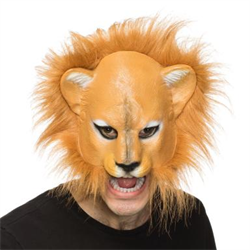 LION MASK WITH TRIM SUPERSOFT