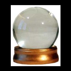 CRYSTAL BALL GLASS PROP