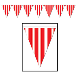 STRIPED PENNANT BANNER