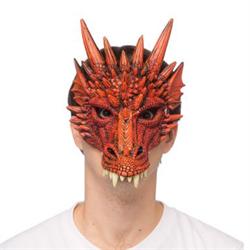 FANTASY DRAGON MASK - RED